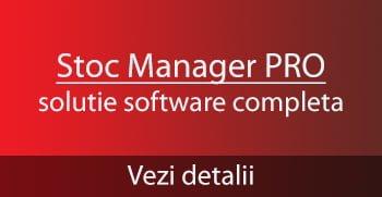 Stoc Manager PRO - pachet complet de gestiune, facturare, vanzare, receptie pentru magazine, retaurante, productie, fabrici
