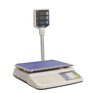 Cântar comercial CAS PRII-30CP cu brat și funcție calcul preț