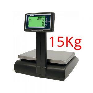 Cântar comercial Dibal G325 6/15 kg cu braț și funcție calcul preț